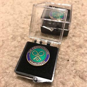 Wimbledon Label Badge (pin)